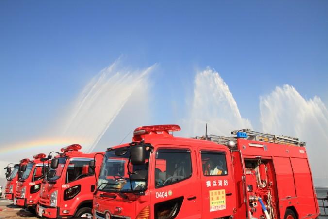 横浜消防出初式2019