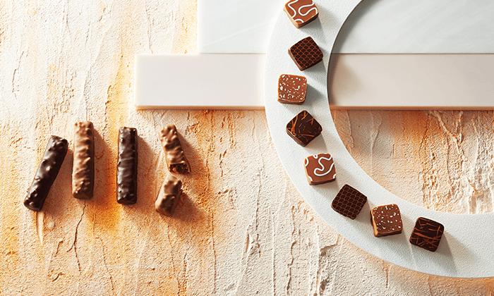王道ブランドのチョコレート