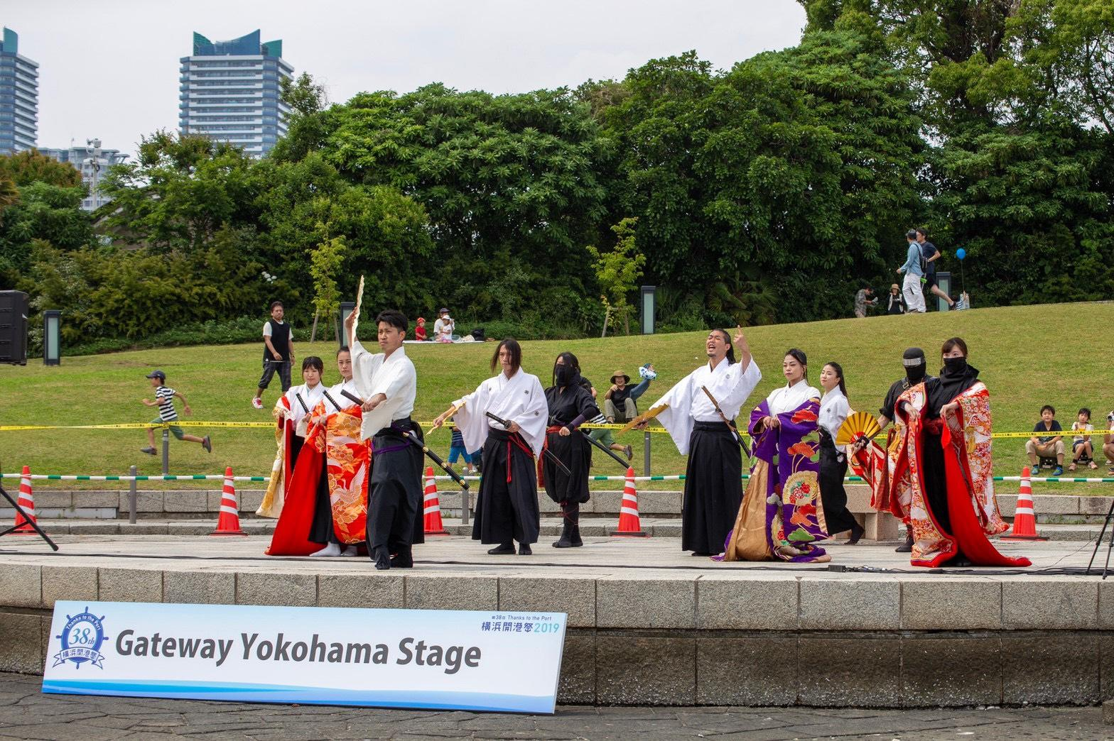 (株)長間建設 Gateway Yokohama Stage