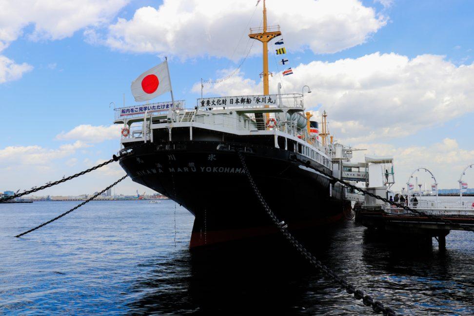 山下公園 日本郵船氷川丸